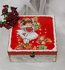 Krabičky - vianočná šperkovnica - 10045959_