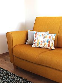 Úžitkový textil - Vzorovaná obliečka - 10045279_