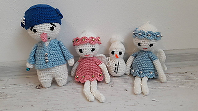 Dekorácie - Vianočný set 4 ks - 10048188_