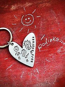 Kľúčenky - NEW SRDIENKO / HEART :) - 10053206_