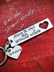 Kľúčenky - ľúbim Ťa viac ako slivkové knedle :))) - 10053209_