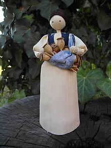 Dekorácie - Šúpolienka s makovičkami - 10050910_