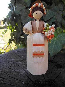 Dekorácie - Šúpolienka - dievčatko družička - 10051212_
