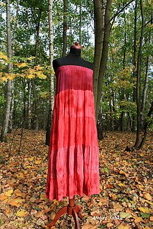 Sukne - Hedvábná sukně maxi - 10050010_