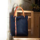 Veľké tašky - Modrá Betka - 10053022_