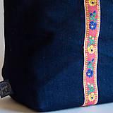 Veľké tašky - Modrá Betka - 10053024_