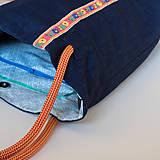 Veľké tašky - Modrá Betka - 10053026_