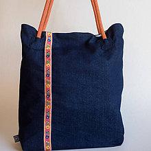 Veľké tašky - Modrá Betka - 10053023_