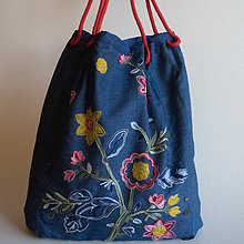 Veľké tašky - Kvetka - 10053111_