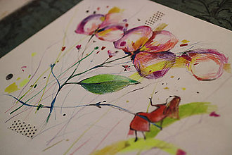 Kresby - Víla a jej záhrada - 10051511_