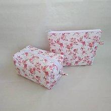 Taštičky - Kozmetická taška - set (Ružová) - 10052542_