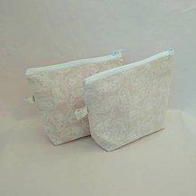Taštičky - Kozmetická taška (Biela) - 10052596_
