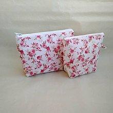 Taštičky - Kozmetická taška - set (Ružová) - 10052631_