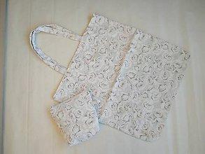 Nákupné tašky - Nákupná taška + kozmetická - 10052767_