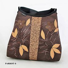 Kabelky - CHCOLATE BROWN BAG no.1 *** PARROT® - 10048875_