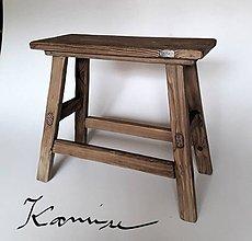 Nábytok - Stolička - lavica farmárska - 10049448_