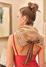 Šály - CAMEL GUCCI - luxusní nákrčník - 10049431_