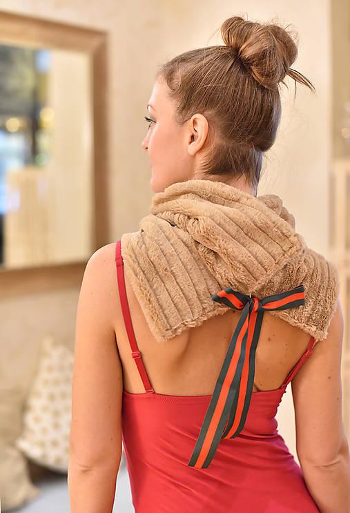 CAMEL GUCCI - luxusní nákrčník