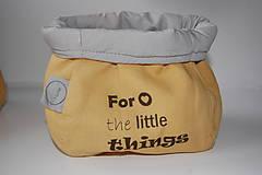Textilné vrecúška s potlačou 2ks
