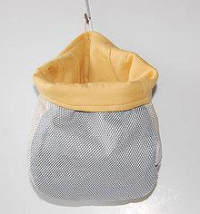 Dekorácie - Textilné vrecúško  20x18 - 10053055_