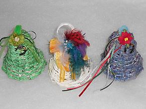 Dekorácie - vianočne zvončeky - 10049392_