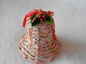 Dekorácie - Vianočný zvonček - 10049468_