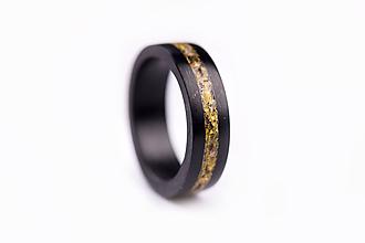 Prstene - Drevený prsteň Icelandia (Žltá) - 10050092_