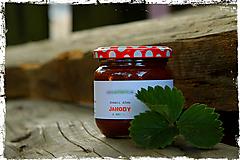 Potraviny - jaHODOVÝ džem s mätou - 10053235_