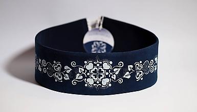 Opasky - Opasok modrotlač 3 - 10052894_
