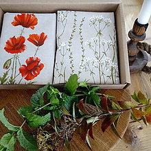 Úžitkový textil - Ručne maľované vankúše v darčekovom balení - 10050959_