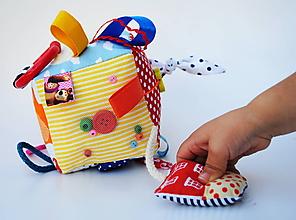 Hračky - Montessori kocka Hravá - 10049419_