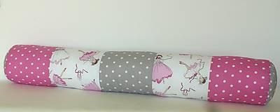 Textil - Veselý valček  (80 cm) - 10050901_