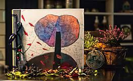 Fotoalbum klasický, polyetylénový obal s autorskou ilustráciou ,,Atmosferická jesenná,,