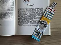 Papiernictvo - Zošívaná záložka do knihy - Suchohríb - 10051775_