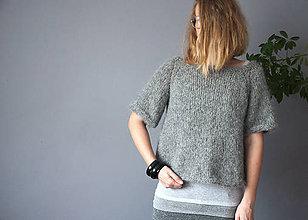 """Svetre/Pulóvre - """"chunky"""" pulover - 10051026_"""