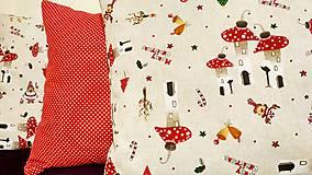 Úžitkový textil - Vianočné obliečky - 10053037_