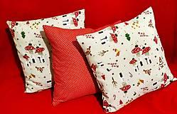 Úžitkový textil - Vianočné obliečky - 10053039_