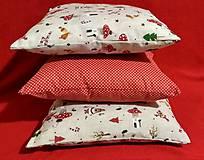 Úžitkový textil - Vianočné obliečky - 10053040_