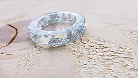 Prstene - Živicový prsteň - 10050728_