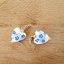Náušnice - Náušničky srdce - 10051545_