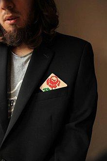 Odznaky/Brošne - Brošňa Ruža - 10052864_
