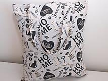 Nákupné tašky - ...sweet home... - 10050136_