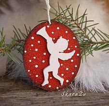 Dekorácie - Vianočný anjel - 10048832_