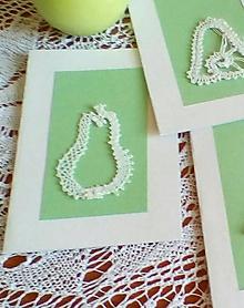 Papiernictvo - vianočná paličkovaná pohľadnica - 9829073_