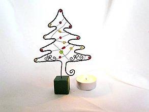 Dekorácie - stromček - 10052424_
