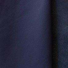 Suroviny - Exkluzívna koža - námornícka modrá - 10049897_