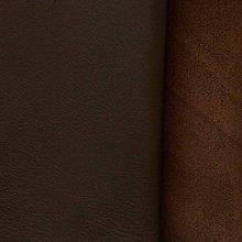Suroviny - Exkluzívna koža - čokoládovo hnedá - 10049941_