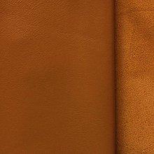 Suroviny - Exkluzívna koža - stredne hnedá jednofarebná - 10049949_