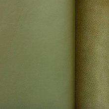 Suroviny - Exkluzívna koža - pistáciová - 10049966_