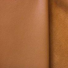 Suroviny - Exkluzívna koža - béžovo hnedá - 10049979_